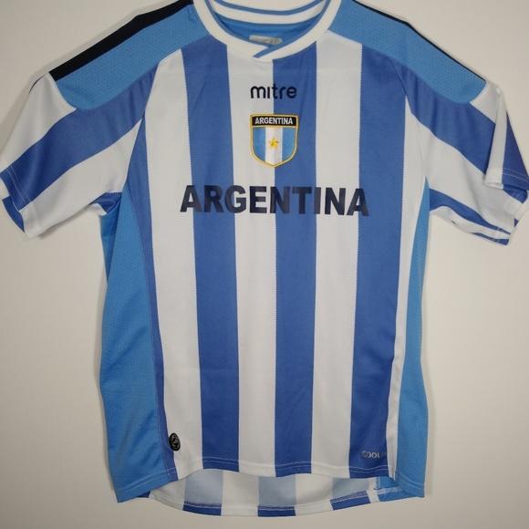 new york fde71 1bd37 Argentina National Soccer Team Jersey Mitre